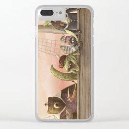 Pirates! Clear iPhone Case