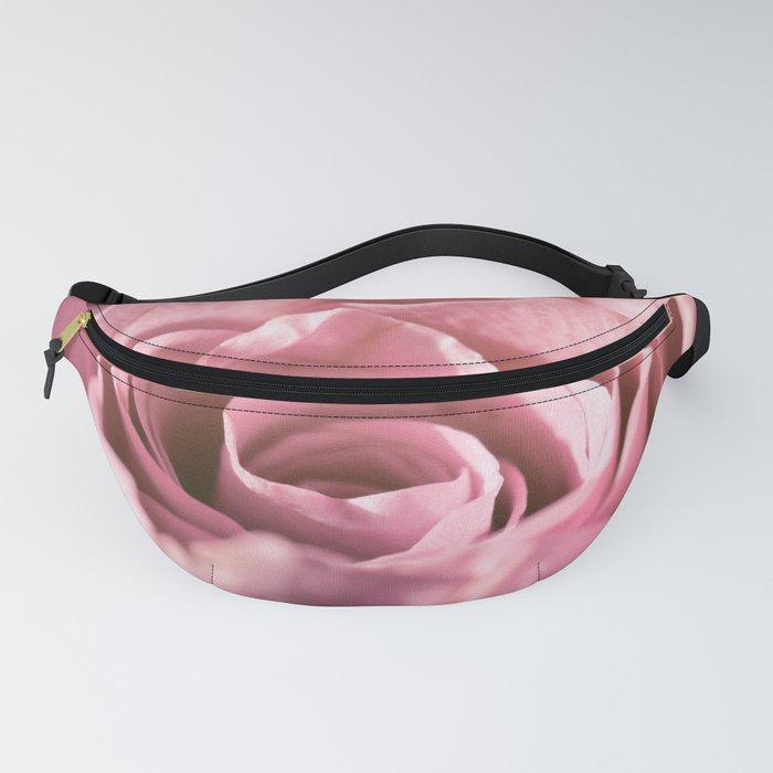 Pink Rose Macro Fanny Pack