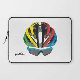 Cycling Face Laptop Sleeve