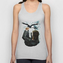 Falling To The Crows Unisex Tank Top