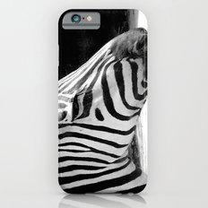 b&w zebra iPhone 6s Slim Case