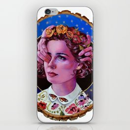 alles zu seiner zeit (everything in its time) iPhone Skin