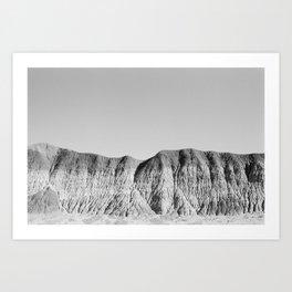 Petrified Hills Art Print