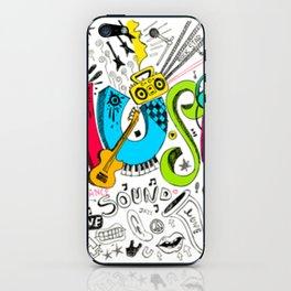 Music! iPhone Skin