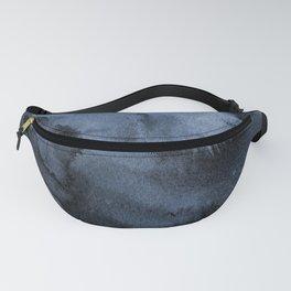 Watercolor Splash in Blue Fanny Pack