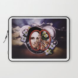 Milk, Honey and Time   Collage Laptop Sleeve