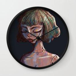 Robot girl Wall Clock