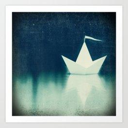 ocean angel Art Print