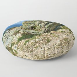 """Conway Mountain (1) Mynydd y Dref (Welsh : """"Mountain of the Town"""")  Floor Pillow"""
