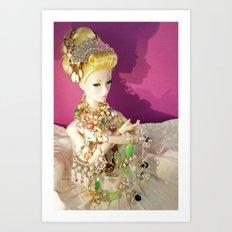 Glitteratti Art Print