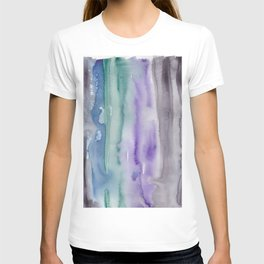 21     190907   Watercolor Abstract Painting T-shirt