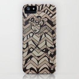 Deco Lady iPhone Case
