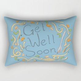 Get Well Soon (Chicken Noodle) Rectangular Pillow