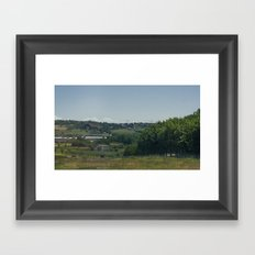 Rimini Countryside I Framed Art Print