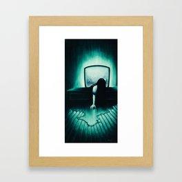 She Never Sleeps Framed Art Print