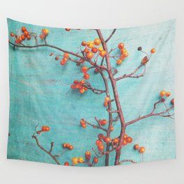 She Hung Her Dreams on Branches Wall Tapestry