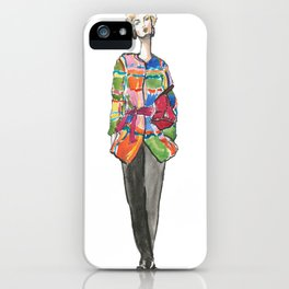 Karolina Kurkova iPhone Case