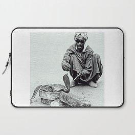 Snake Charmer in Morocco Laptop Sleeve
