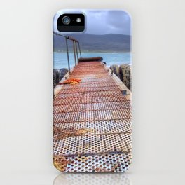 Horgabost, Isle Of Harris iPhone Case