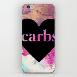 carb love fluid painting. iPhone Skin