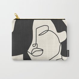 Drawing female face portrait II Carry-All Pouch