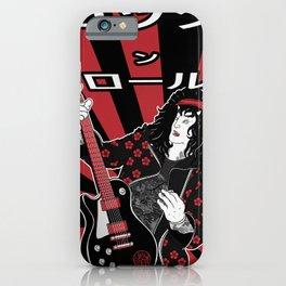 Rock n roll - guitar legend iPhone Case