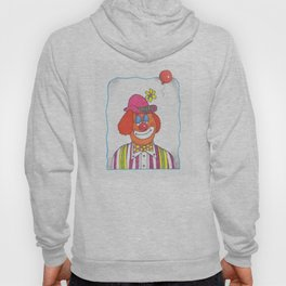 Clown with Balloon Hoody