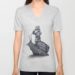 In which no explanation can be found Unisex V-Neck