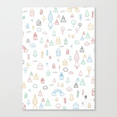 LOVELY NATURE Canvas Print