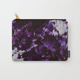 Splash In Purple Carry-All Pouch