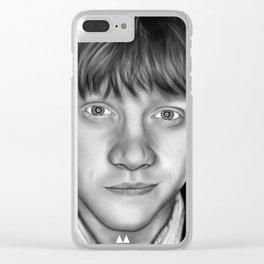 Rupert Grint Clear iPhone Case