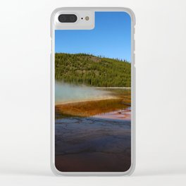 Grand Prismatic Colors Clear iPhone Case
