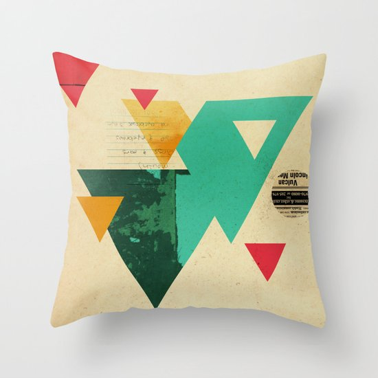 Monster Teeth II Throw Pillow