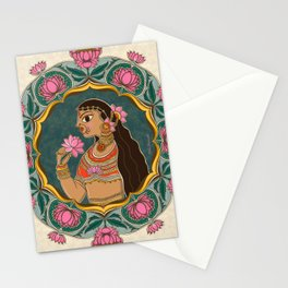 The Queen of Lotua Stationery Cards