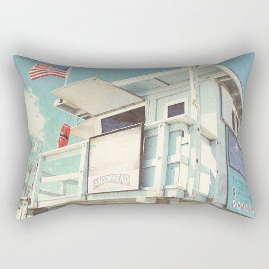 The cabin Rectangular Pillow