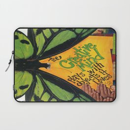 Butterfly-   The Creative Mind Laptop Sleeve