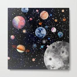 Cosmic world Metal Print