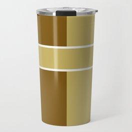 Team Colors 6....gold,brown Travel Mug