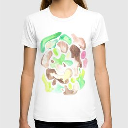 170623 Colour Shapes Watercolor 1    Abstract Shapes Drawing   Abstract Shapes Art  Watercolor Paint T-shirt