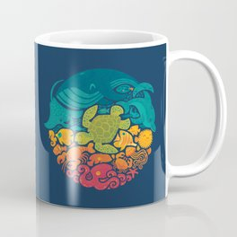 Aquatic Rainbow Coffee Mug