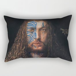Ta Moko Durer Rectangular Pillow