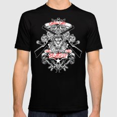 Stop Your Lion Mens Fitted Tee MEDIUM Black