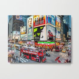 Times Square II Special Edition III Metal Print