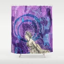 Justice - Tarot Shower Curtain