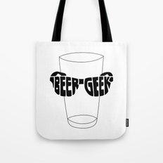 Beer Geek Tote Bag