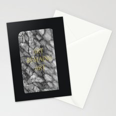 Art remains Art Stationery Cards