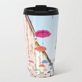 Umbrellas of Ferrara III Travel Mug