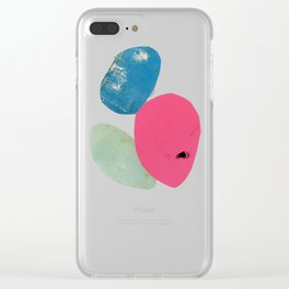 Abstract 003 Clear iPhone Case