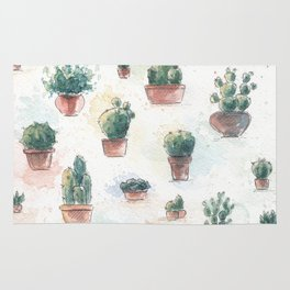 Cacti nd succulents Rug