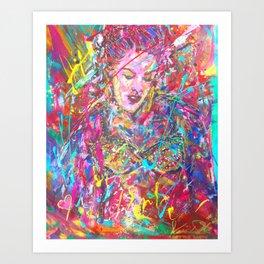 Iconic Pink Art Print